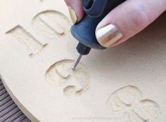 Dremmel Carving