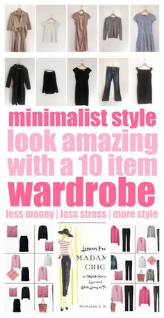 You MUST check this out! This 10 item wardrobe idea is amazing! You MUST check this out! This 10 item wardrobe idea is amazing! It has to make getting dressed in t 10 Item Wardrobe, Capsule Wardrobe Mom, Simple Wardrobe, Wardrobe Ideas, Pink Wardrobe, Summer Wardrobe, Womens Fashion Casual Summer, Womens Fashion For Work, Ladies Fashion
