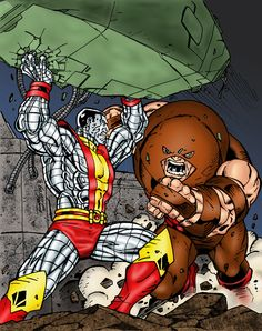 Colossus Battles Juggernaut