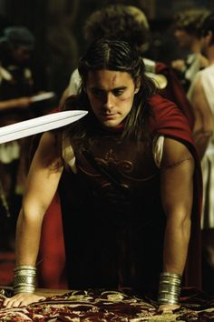 Jared Leto as Hephaestion.