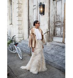 Jenna Lyons Wedding Guest Outfit - Jenna Lyons at Solange Knowles' Wedding