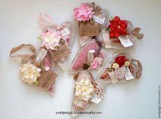 Подарки для влюбленных ручной работы. Ярмарка Мастеров - ручная работа. Купить Сердечки-саше розовые. Handmade. Розовый, шебби лента
