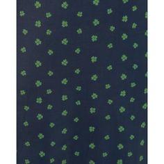 'Juliet' Navy Clover Print Tea Dress