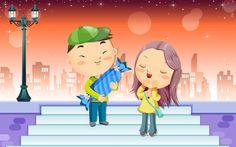Background Love Wallpaper WallDevil