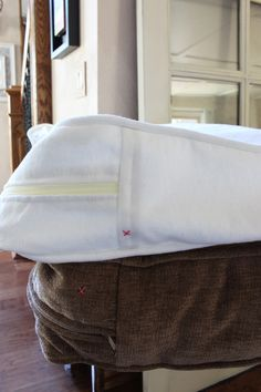 How to Slip Cover a Sectional 58