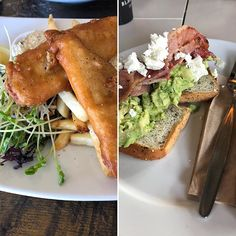 When I first went gluten free I thought going out and eating would mean the blandest food ever! I have been quickly proven wrong. Picture Fish and chips with a side salad Picture Avocado smash with GF bread Don't be discouraged by Bland Food, Fish And Chips, Side Salad, Avocado Toast, Gluten Free Recipes, Free Food, Friday, Bread, Meals