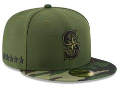 0ef5406cdab Seattle Mariners New Era 2017 MLB Memorial Day 59FIFTY Cap