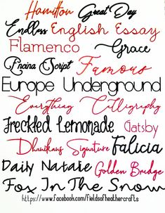 FREE Single Line Fonts That Will Write without bubbling In Cricut Design Space- - Fonts - Ideas of Fonts - Fields Of Heather: FREE Single Line Fonts That Will Write without bubbling In Cricut Design Space- Writing Styles Fonts, Writing Fonts, Pretty Writing, Fancy Writing, Word Fonts, Fun Fonts, Fancy Pens, Pretty Fonts, Cricut Fonts