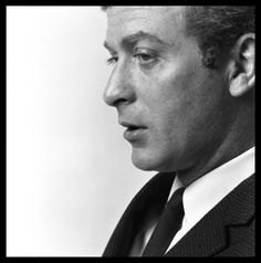A young Michael Caine
