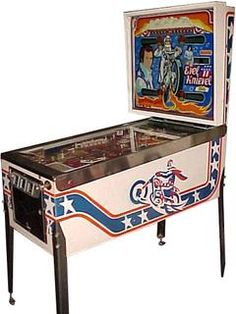 Evel Knievel - Pinball by Bally Manufacturing Co.- 1977