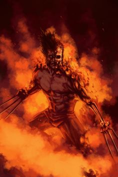 WOLVERINE WEDNESDAY - 45 by reau - Geek Art. Follow back if... #comics #art