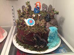 Disney The Brave cake