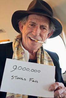 Rolling Stones Reach a Modern Milestone...9 Million Facebook Followers
