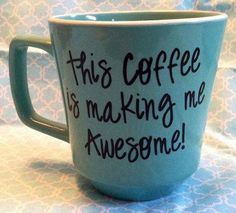 font. writing on coffee mugs with sharpie | mug with a sharpie bake at 350 degrees for 30 minutes and make any mug ...