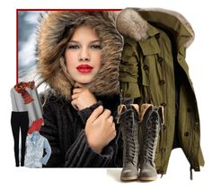 """""""Burrr - it's cold outside!"""" by girlyideas ❤ liked on Polyvore featuring By Malene Birger, Forzieri, Madewell, Witchery and Avoca"""