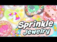 DIY JEWELRY with SPRINKLES!? Resin For Beginners - Sprinkle Pendant Charm How To…