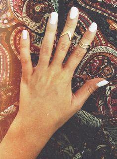 boho jewelry. tiny rings.