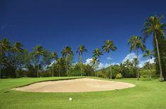 Wailua Golf Course on the Island of Kaua'i.