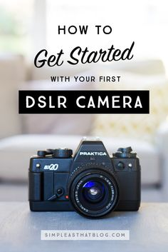 Follow these simple first steps and get familiar with your new camera!