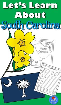 States and capitals activities and games pinterest 50 states south carolina state symbols history geography economics and more includes coloring sheets a fact sheet and 18 research task cards for further study publicscrutiny Images