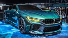 It's called the 'BMW Concept M8 Gran Coupe', which is a bit of a mouthful, and also sounds a bit like something an imaginary two-door grandmother might drive. But despite the weird images it conjours in your head, what we have here is the performance version of BMW's new 8 Series, the M8, in 'Gran Coupe' guise. Meaning that, like the standard 8, it's not a coupe, but a swoopy four-door. Got that?