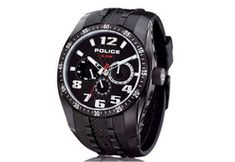 Police P12087J-Z Resin watchstraps | Cheapest!