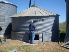 How-To disassemble a grain bin.