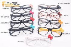 Lovely Cute Style New Arrival Hello Kitty Glasses Designer Cat Vintage Eyeglasses Frame New Fashion Korean