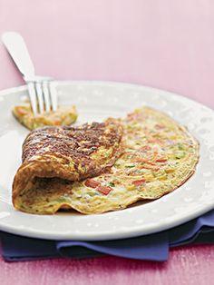 Ometele Funcional  Omelete de shitake e alho poró   Ingredientes  3 ovos  1/2 xíc. (chá) de cogumelo shitake  1 col. (sopa) de biomassa de banana verde  1/2 xí...