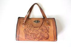 Vintage+Handbag+1970s+Bohemian+Chestnut+Brown+by+VimVigorVintage,+$36.00