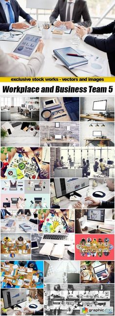 Workplace and Business Team 5  22xUHQ JPEG  stock images