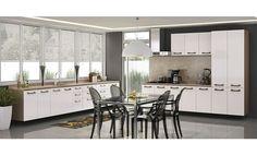 Cozinha Compelta Kappesberg Sense 3,80 x 2,80 m é na Panorama Móveis! Venha conferir.