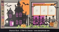 CTMH Scaredy Cat Layout