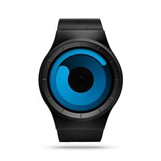 ZIIIRO Mercury Unisex Watches Black Ocean * You can find out more details at the link of the image.