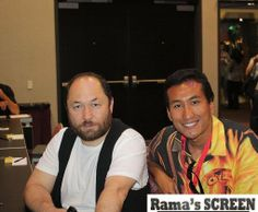 With Director TIMUR BEKMAMBETOV (Wanted, Abraham Lincoln: Vampire Hunter) at Comic-Con 2009. Check out my movie blog: Rama's SCREEN at www.ramascreen.com and LIKE my Facebook page at facebook.com/ramascreen and follow me on twitter at @RamasScreen