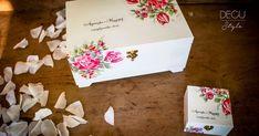 Komplet na ślub pudełko na obrączki skrzynka na życzenia Decoupage, Container, Style, Crates, Events, Swag, Stylus, Outfits