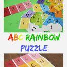 ABC Rainbow Puzzle Busy Bag