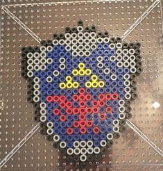 Link's Shield Perler / Hama Bead Pattern