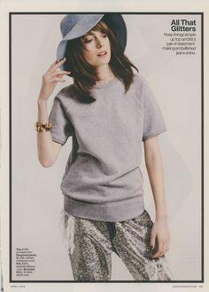 April 2015 Lucky Magazine, Bucket Hat, Hats, Fashion, Moda, Bob, Hat, La Mode, Fasion