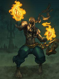 The Comic Ninja - Iron Fist by Yuan Kang Shing Marvel Comics, Marvel E Dc, Gay Comics, Marvel Comic Universe, Marvel Comic Books, Comics Universe, Marvel Characters, Comic Books Art, Comic Art