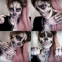 How to: rad skull facepaint