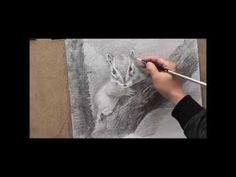 drawing / art / sketch / 기초소묘 / 다람쥐 / 미술 동영상 / 데생기초 / 소묘강좌 / 드로잉 / 연필스케치 강좌 / 미도움 미술학원 - YouTube