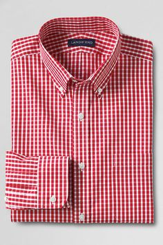 Men's Tailored Fit Limited Edition Buttondown Dress Shirt from Lands' End