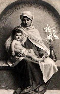 Léon François Benouville (1821 – 1859, French) Madonna With Child
