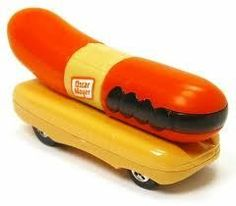 Toys Toys Toys additionally Patent Design together with Giant Boob Food Truck Brings Milk moreover courtweek additionally Henry Ford Museum. on oscar mayer wienermobile train