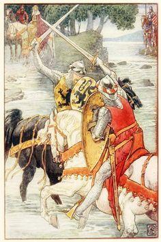 "Walter Crane – From ""King Arthur's Knights"", 1911"