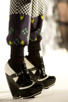 From the L.A.M.B. Fall 2012 collection. I could see myself in these somewhere in Harajuku.