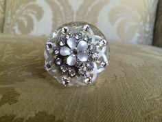 ring box crystal ring box proposal box by TheCrystalFlower on Etsy, $55.00
