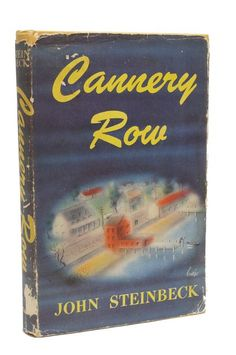 Cannery Row First Edition John Steinbeck 1st Printing Book 1st Issue 1945
