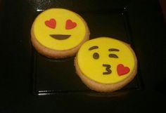 Graciosas galletas de emoticonos!!
